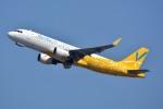 トロピカルさんが、成田国際空港で撮影したバニラエア A320-214の航空フォト(写真)