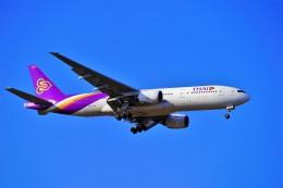 hidetsuguさんが、新千歳空港で撮影したタイ国際航空 777-2D7の航空フォト(飛行機 写真・画像)