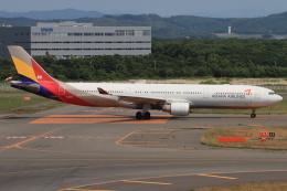 masa707さんが、新千歳空港で撮影したアシアナ航空 A330-323Xの航空フォト(飛行機 写真・画像)
