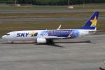 masa707さんが、新千歳空港で撮影したスカイマーク 737-81Dの航空フォト(写真)