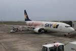 masa707さんが、奄美空港で撮影したスカイマーク 737-86Nの航空フォト(写真)