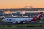 HNANA787さんが、羽田空港で撮影したカンタス航空 747-438/ERの航空フォト(写真)