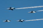 aircanadafunさんが、入間飛行場で撮影した航空自衛隊 T-4の航空フォト(飛行機 写真・画像)