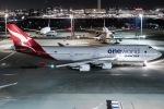 I.K.さんが、羽田空港で撮影したカンタス航空 747-438/ERの航空フォト(写真)