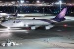 I.K.さんが、羽田空港で撮影したタイ国際航空 747-4D7の航空フォト(写真)