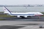I.K.さんが、羽田空港で撮影した大韓民国空軍 747-4B5の航空フォト(写真)