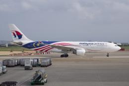 かずまっくすさんが、台湾桃園国際空港で撮影したマレーシア航空 A330-223の航空フォト(飛行機 写真・画像)