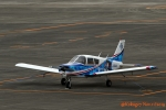 湖景さんが、名古屋飛行場で撮影した日本法人所有 PA-28-140 Cherokeeの航空フォト(写真)