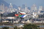 kumagorouさんが、仙台空港で撮影した茨城県防災航空隊 BK117C-2の航空フォト(写真)