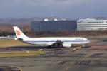 しんさんが、新千歳空港で撮影した中国国際航空 A330-343Xの航空フォト(飛行機 写真・画像)