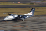 しんさんが、新千歳空港で撮影したオーロラ DHC-8-311Q Dash 8の航空フォト(写真)
