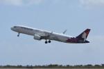 kuro2059さんが、ダニエル・K・イノウエ国際空港で撮影したハワイアン航空 A321-271Nの航空フォト(写真)