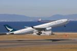わんだーさんが、中部国際空港で撮影したキャセイパシフィック航空 A330-342の航空フォト(写真)