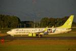 simokさんが、鹿児島空港で撮影したソラシド エア 737-86Nの航空フォト(写真)