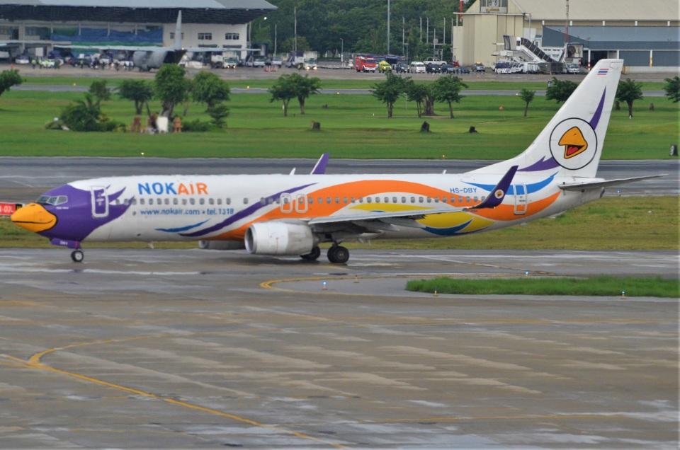 amagoさんのノックエア Boeing 737-800 (HS-DBY) 航空フォト