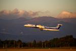 simokさんが、鹿児島空港で撮影したANAウイングス DHC-8-402Q Dash 8の航空フォト(写真)