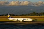 simokさんが、鹿児島空港で撮影したスカイマーク 737-8FZの航空フォト(写真)