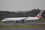 Shibataさんが、成田国際空港で撮影したブリティッシュ・エアウェイズ 787-9の航空フォト(飛行機 写真・画像)