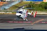 くれないさんが、高松空港で撮影した四国航空 BK117C-1の航空フォト(写真)