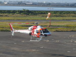 F.YUKIHIDEさんが、岡南飛行場で撮影した朝日航洋 AS355Nの航空フォト(写真)