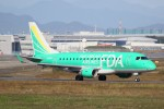 ドラパチさんが、名古屋飛行場で撮影したフジドリームエアラインズ ERJ-170-100 SU (ERJ-170SU)の航空フォト(写真)