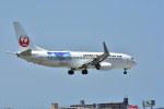 ちどりんさんが、福岡空港で撮影した日本トランスオーシャン航空 737-8Q3の航空フォト(写真)