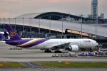 we love kixさんが、関西国際空港で撮影したタイ国際航空 777-3AL/ERの航空フォト(写真)