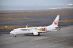 金魚さんが、中部国際空港で撮影した日本トランスオーシャン航空 737-8Q3の航空フォト(写真)