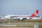 JAXXさんが、成田国際空港で撮影したカーゴルクス・イタリア 747-4R7F/SCDの航空フォト(写真)