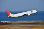 Co-pilootjeさんが、羽田空港で撮影した日本航空 767-346の航空フォト(飛行機 写真・画像)