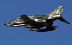 青い翼に鎧武者マークの!さんが、岐阜基地で撮影した航空自衛隊 RF-4E Phantom IIの航空フォト(写真)