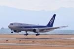 こじこじさんが、山口宇部空港で撮影した全日空 767-381/ERの航空フォト(写真)