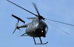 青い翼に鎧武者マークの!さんが、明野駐屯地で撮影した陸上自衛隊 OH-6Dの航空フォト(写真)