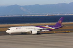 meijeanさんが、中部国際空港で撮影したタイ国際航空 A350-941XWBの航空フォト(写真)