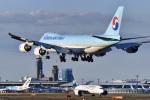 パンダさんが、成田国際空港で撮影した大韓航空 747-8HTFの航空フォト(飛行機 写真・画像)