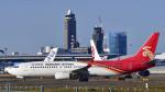 パンダさんが、成田国際空港で撮影した深圳航空 737-86Nの航空フォト(写真)