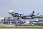 mocohide☆さんが、福岡空港で撮影した全日空 737-8ALの航空フォト(写真)
