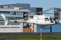 Chofu Spotter Ariaさんが、東京ヘリポートで撮影したアカギヘリコプター AS350B3 Ecureuilの航空フォト(飛行機 写真・画像)