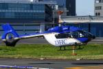 Chofu Spotter Ariaさんが、東京ヘリポートで撮影した川崎重工業 EC145T2の航空フォト(飛行機 写真・画像)