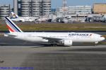 Chofu Spotter Ariaさんが、羽田空港で撮影したエールフランス航空 777-228/ERの航空フォト(飛行機 写真・画像)