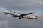 こじこじさんが、福岡空港で撮影した日本航空 A350-941XWBの航空フォト(写真)