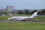 こじこじさんが、佐賀空港で撮影した朝日航洋 680 Citation Sovereignの航空フォト(写真)