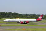 senyoさんが、成田国際空港で撮影したヴァージン・アトランティック航空 A340-642の航空フォト(写真)