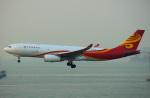 KAZKAZさんが、香港国際空港で撮影した香港航空 A330-243Fの航空フォト(写真)