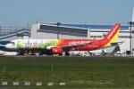 tassさんが、成田国際空港で撮影したベトジェットエア A321-271Nの航空フォト(飛行機 写真・画像)