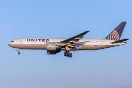 mameshibaさんが、成田国際空港で撮影したユナイテッド航空 777-224/ERの航空フォト(飛行機 写真・画像)