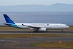 yabyanさんが、中部国際空港で撮影したガルーダ・インドネシア航空 A330-343Eの航空フォト(飛行機 写真・画像)