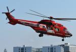 チャーリーマイクさんが、立川飛行場で撮影した東京消防庁航空隊 AS332L1の航空フォト(写真)