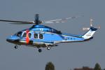 チャーリーマイクさんが、立川飛行場で撮影した警視庁 AB139の航空フォト(写真)
