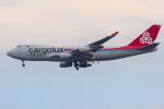 mameshibaさんが、成田国際空港で撮影したカーゴルクス・イタリア 747-4R7F/SCDの航空フォト(写真)